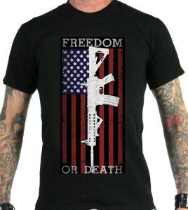 freedom-death-ar-15-black-tshirt