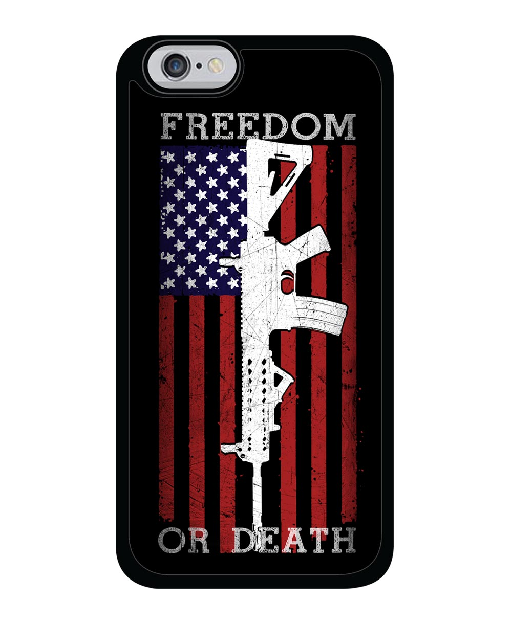 American Flag Ar 15 Freedom Or Death Iphone Galaxy