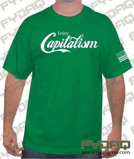 capitalism-green-Tee-FYDAQ