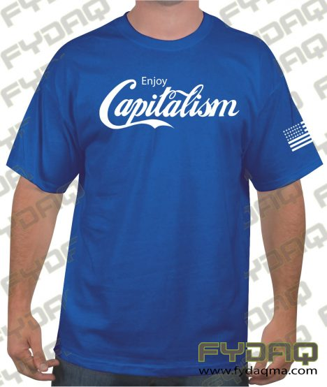capitalism-royal-blue-Tee-FYDAQ
