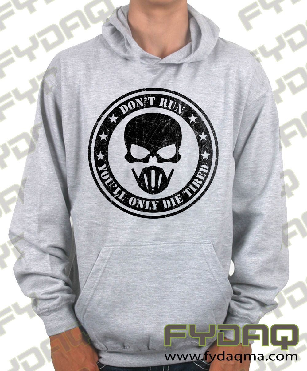 Don't-run-you'll-only-die-tired-heather-grey-hoodie-fydaq