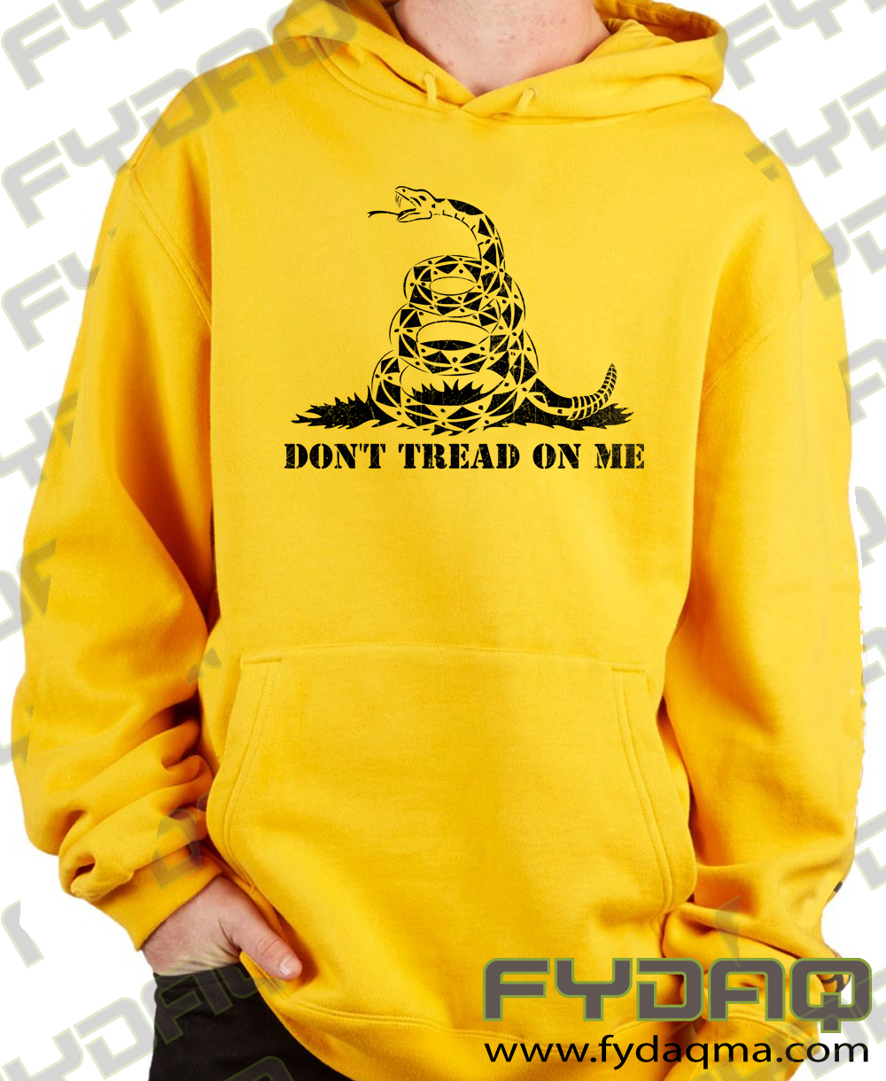 05e47a03b Buy Now - Gadsden Flag – Don't Tread On Me Hoodie Designed by ...